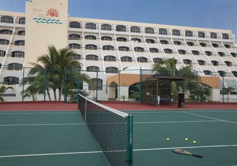 Golden Parnassus All Inclusive Resort & Spa - Court de tennis Hotel Golden Parnassus All Inclusive Resort & Spa Cancún