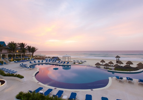 Golden Parnassus All Inclusive Resort & Spa - Piscine Hotel Golden Parnassus All Inclusive Resort & Spa Cancún