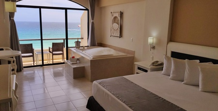 Chambres fabuleuses Hotel Golden Parnassus All Inclusive Resort & Spa - Cancún